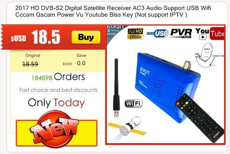 Genuine K1 PLUS DVB T2 Terrestrial + DVB S2+ H 265 Android 5 1 1G/8G