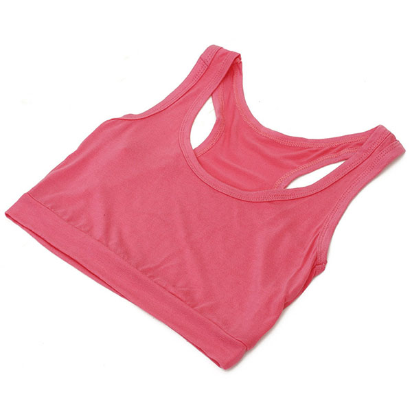Women Comfy Modal Racerback Basic Active Bra Yoga Fitness Sportswear Jogging Cycling Workout Seamless Push Up Bras for Women BH