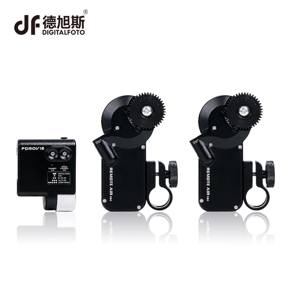 все цены на DIGITALFOTO PDMOVIE motorized wired follow focus zoom focus for DSLR camera DJI RONIN M RIG 3 axis Gimbal film-making Sony Nikon онлайн