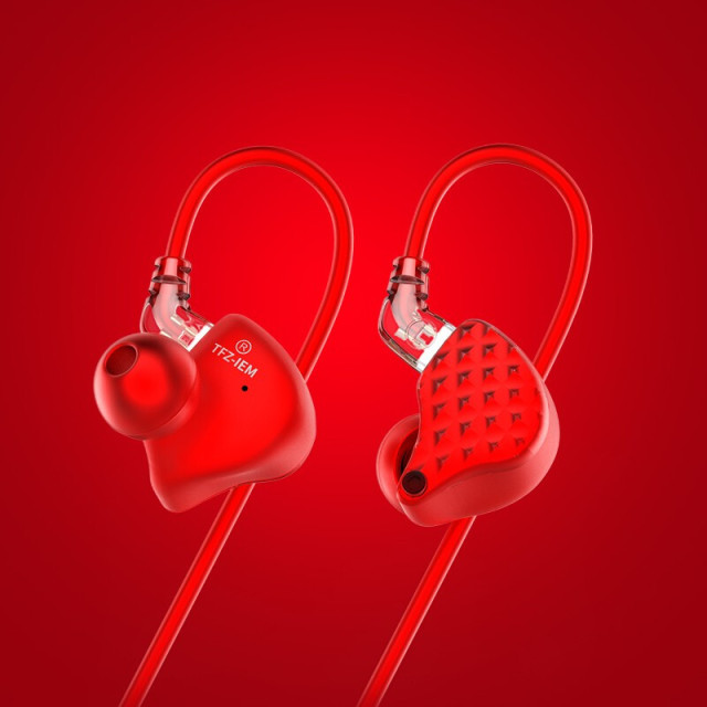 TFZ KING III Red Limited Edition Dynamic Monitor In-Ear Earphones with Detachable cable 3