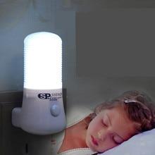 1W AC 110 220V LED MINI gece lambası ab/abd Plug için başucu lambası çocuk bebek yatak odası duvar soket ışık ev dekorasyon lambası