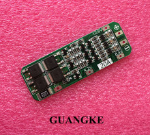 1pcs 3S 20A Li-ion Lithium Battery 18650 Charger PCB BMS Protection Board 12.6V Cell 59x20x3.4mm Module