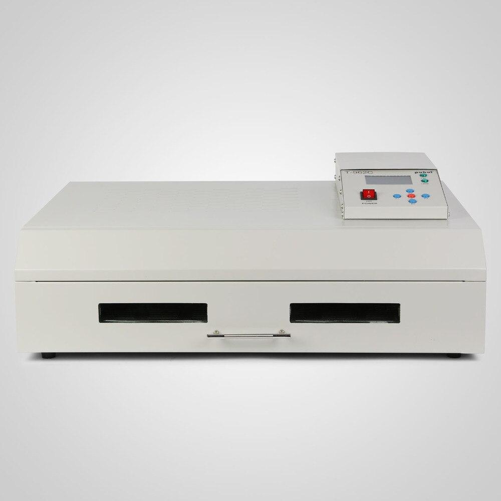 Ev Aletleri'ten Isı Pompalı Su Isıtıcısı Parçaları'de VB AC06 reflow 8 ısıtma bölgeleri SMT konveyör reflow fırın PCB lehimleme title=
