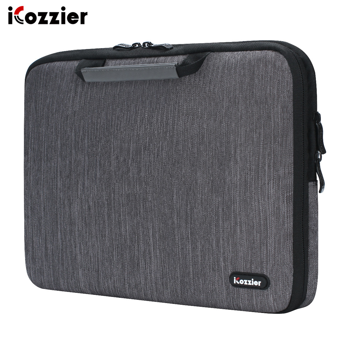 iCozzier 11.6/13./15.6/17.3 inch handle electronic accessories strap laptop sleeve case bag protective bag for 15.6 notebook
