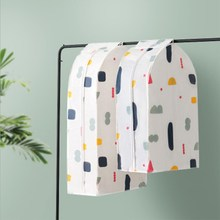 PEVA Stereoscopic Suit Cover Hanging Storage Bags Dust-proof Garment Dust Waterproof Clothing Case for Child Adult