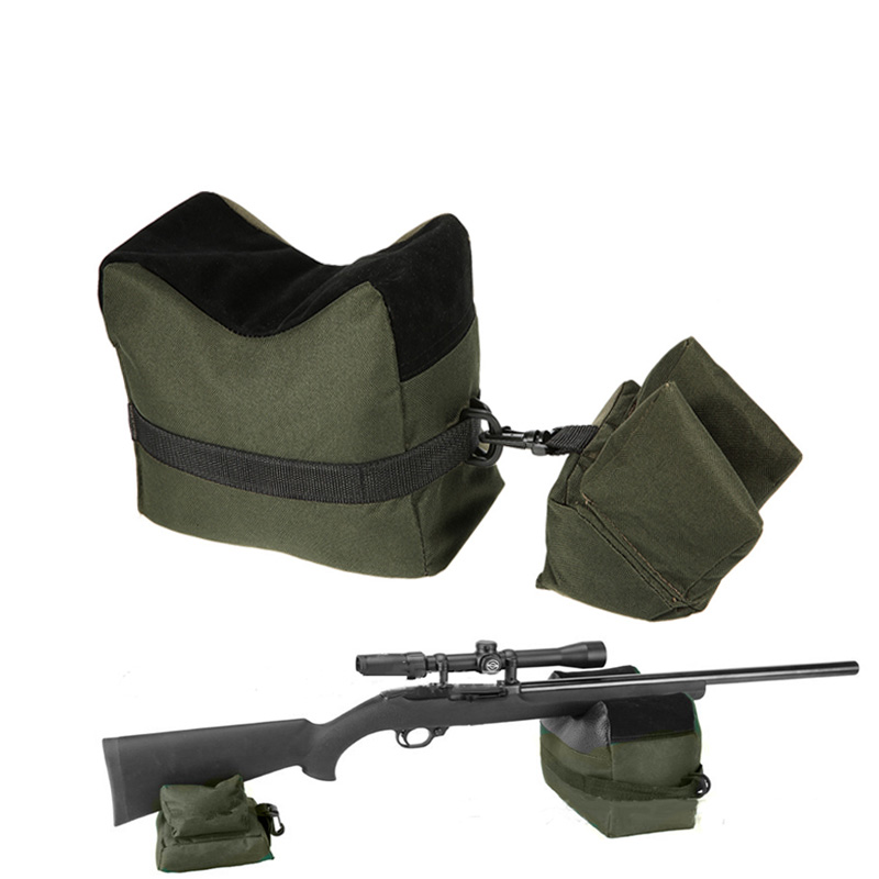Portable Shooting Front & Rear Bench Rest Bags Rest Range Target Tactical Bench Unfilled Stand Hunting Accessories