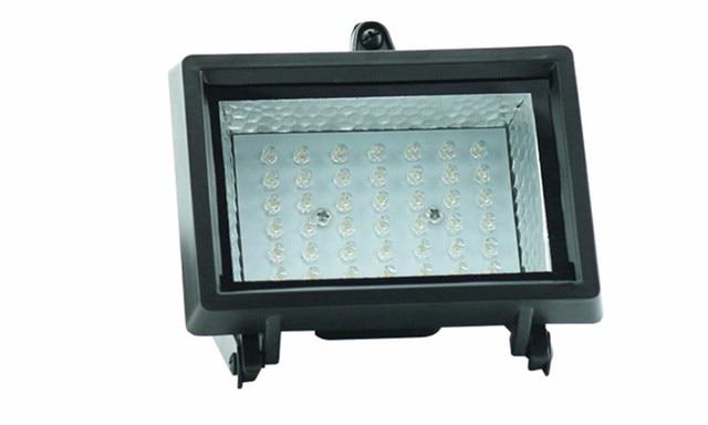 High brightness Li-ion battery Outdoor waterproof 54LEDs Solar led floodlight Solar LED Spotlights for garden decoration