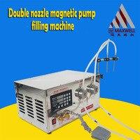 Small Digital Control Pump Liquid Filling Machine