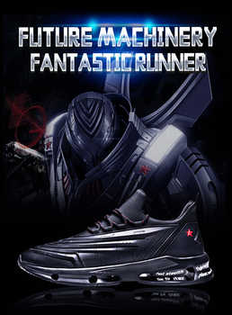 ONEMIX Black Technical Men Running Shoes Lightweight Cushioning Sneakers Casual Athletics Shoes Men Trail Trianers