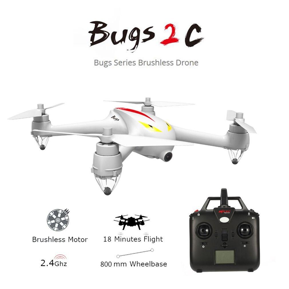 MJX B2C 2.4g 4CH RC drone con 1080 p Della Macchina Fotografica il Mantenimento di Quota di ritorno Automatico RC Quadcopter con il GPS intelligente orientamento contro
