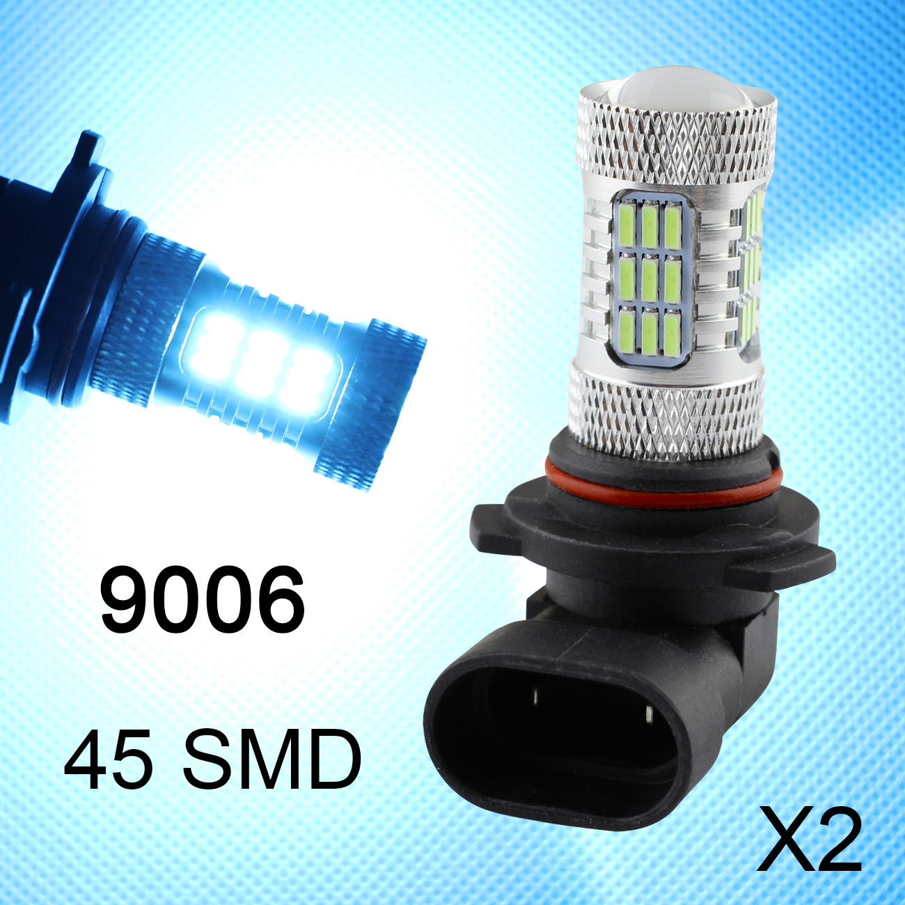 Fit For Truck Foglight Lamp 9006 9012 9006HP 9006XS LED Blue Color Car Fog Light Bulbs