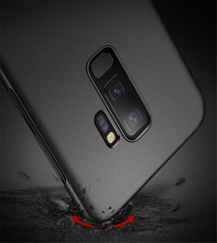 Full Protective PC Metal Case for Samsung Galaxy Note 9 Case Hard Thin Slim Car magnet Cover for Samsung s9 s8 plus Galaxy s9+ (11)