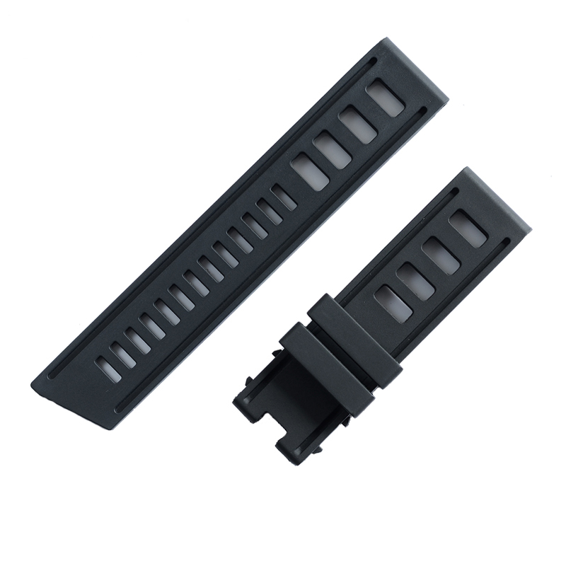 Interchangeable Watchband Silicone Rubber Classic Watch Band 22mm Soft Silicone Man Watch Replacement Bracelet Strap for Sport  Interchangeable Watchband Silicone Rubber Classic Watch Band 22mm Soft Silicone Man Watch Replacement Bracelet Strap for Sport