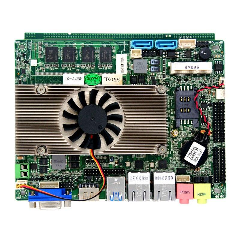 I5 Processor Dual Core CPU HM77 Motherboard With 6 USB 2 0 1 HDMI 3 5