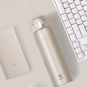 Image 5 - Youpin VIOMI Tasse Edelstahl Vakuum 24 Stunden Flask Wasser Smart Flasche Thermos 460ML