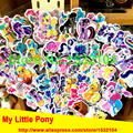 2016 NEW Fashion My Little Pony wall stickers,Cute My Little Pony Bubble stickers For Children birthday gift Toy decor stickers