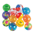 50 pieces/set 13cm Mini Multi Inflatable PVC Ocean Ball Children Beach/Pool/Bath Balls Baby Toys Paty Supply Ball Pits Free Ship