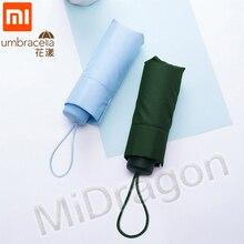 Xiaomi 傘 50% 倍超ショート太陽保護傘 protable 超軽量雨の傘防水防風