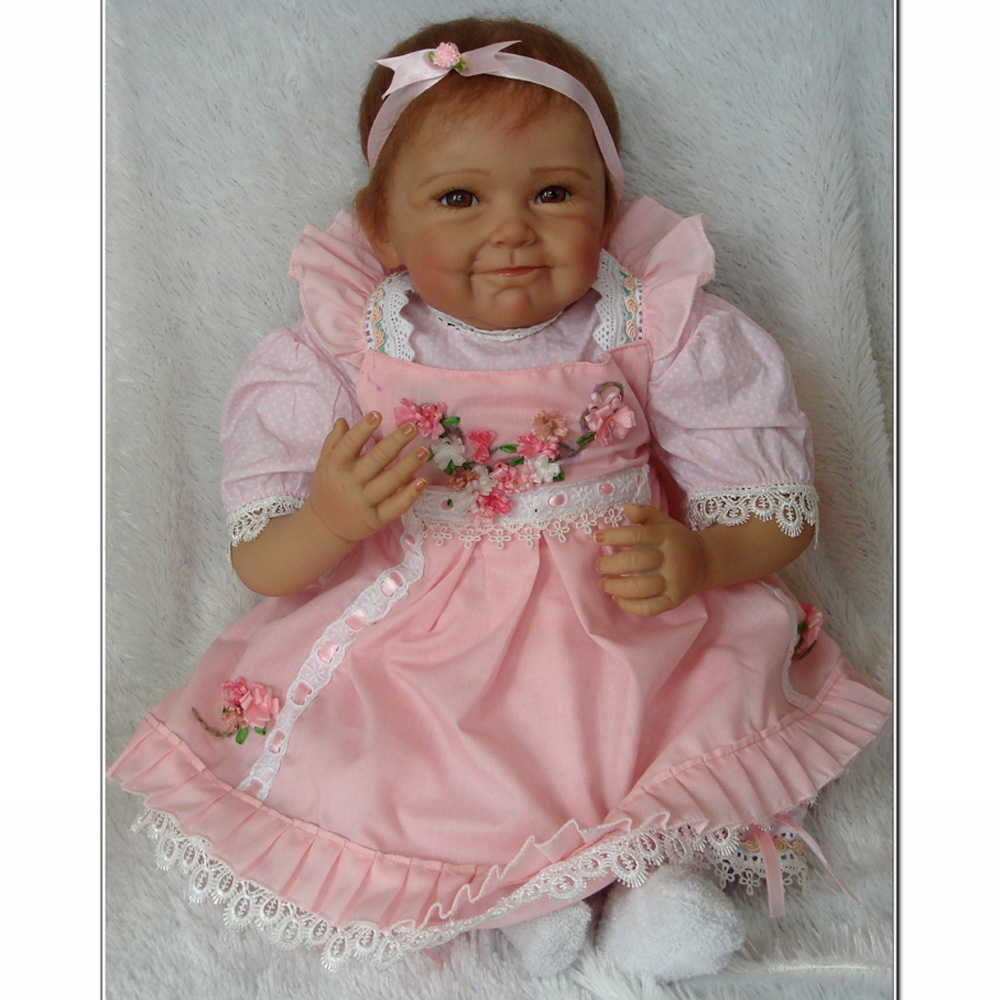 Wholesale 22 Inch Feborn Baby Doll Princess Girl Dolls