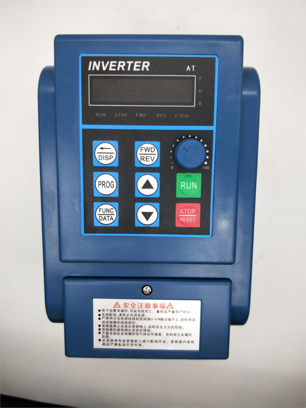 AC 380V 1.5kW/2.2KW/4KW/5.5KW/7.5KW Variable Frequency Drive 3 Phase Speed Controller Inverter Motor VFD Inverter