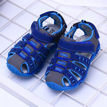 New Summer Boys Shoes Kids Sandals Closed-Toe Toddler Beach Outdoor Sandale Garcon Calcados Infantil