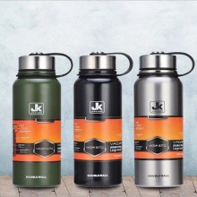 Stainless steel large capacity Space kettle thermos outdoor portable water bottle Long-term insulation  sport