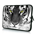 Fashion Tiger Pattern Zipper Laptop Package 7 10 12 13 14 15 17 inch Netbook Liner Sleeve Cover Cases For Samsung Macbook Dell