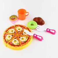 Simulated Children's Home Toys Set Cake Tableware Set Simulated Pizza Toys bjd doll accessories