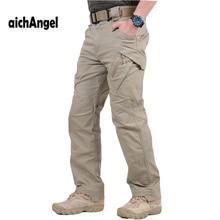 IX9 Militar taktik kargo pantolon erkekler savaş SWAT ordu askeri pantolon Sweatpants erkek pantolon