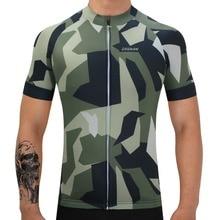 Здесь можно купить  SUSHAN Men Camouflage Cycling Bicycle Top Bike Shirt Sports Racing Cycling Team Bike Bicycle Clothing Clothes  Cycling
