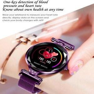 Image 5 - H1 smart watch女性心拍数血圧フィットネス歩数計女性ブレスレット生理サイクルIP67防水スマートウォッチ
