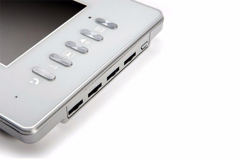 7 Inch 700TVL 1V3 Monitor For Wired Intercom Video Door Phone