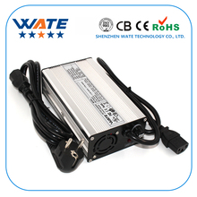 48 V 4A E-Bike Lityum pil charger-54.6V 4Amp 13 S Lipo/LiMnO4 pil şarj ile Yüksek Kalite alüminyum konut CE & RohS