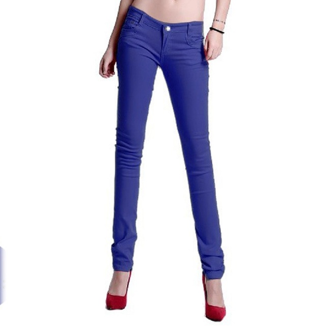 New Korean Women Pencil Pants Candy Color Skinny Jeans Women Hips Fitness  Trousers Female Jeans Plus - Aliexpress.com : Buy New Korean Women Pencil Pants Candy Color