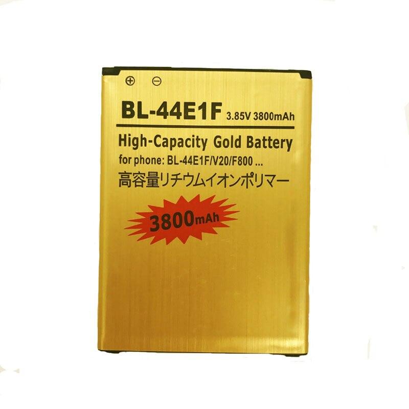 NENG 2018 Nouvelle 3800 mAh Golden Business BL-44E1F Li-Ion Batterie pour LG V20 H990 F800 Li-ion Polymère Batterie De Remplacement