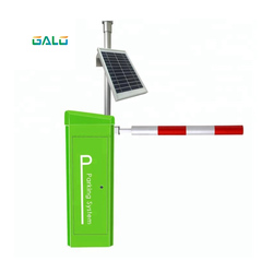Barrera de puerta de control remoto de alta calidad sin ruido panel Solar