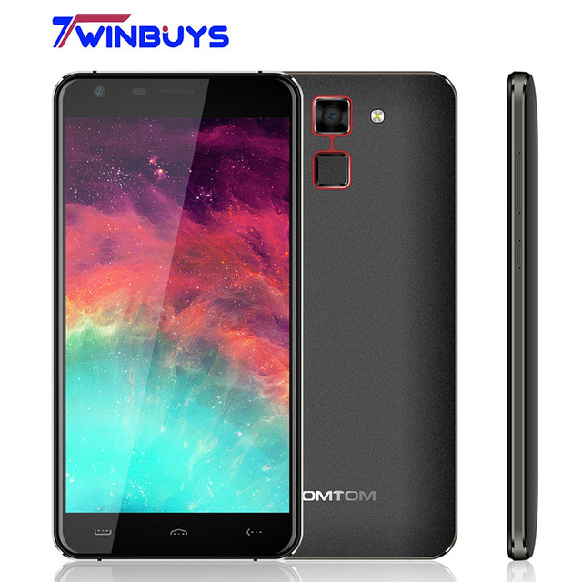 HOMTOM HT30 Smartphone 3G WCDMA Fingerprint 5.5inch HD MTK6580 Quad Core Android 6.0 1280*720 1GB+8GB 8MP 3000mAh mobile phone