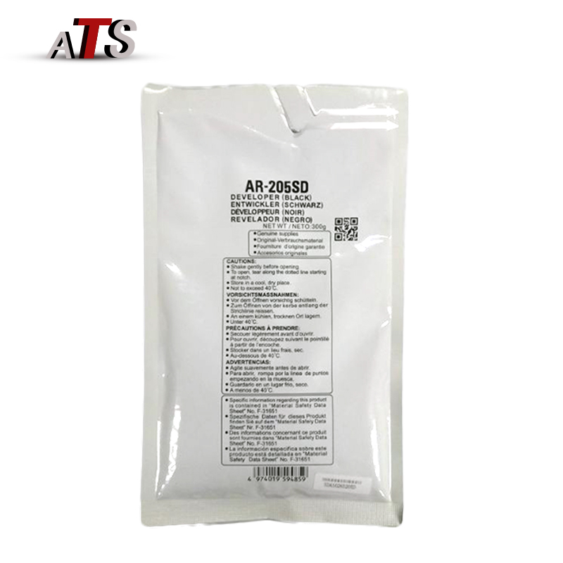 1X 300G Black Developer Powder MX-205SD For Sharp AR 3821 3818 3020 Compatible AR3821 AR3818 AR3020 Copier Supplies(China)