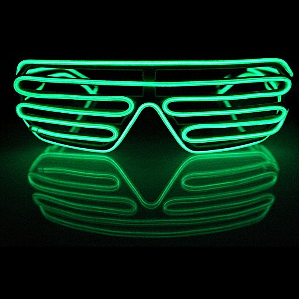 TGETH Smart Remote Control EL Wire Fashion Neon LED Light Up ...
