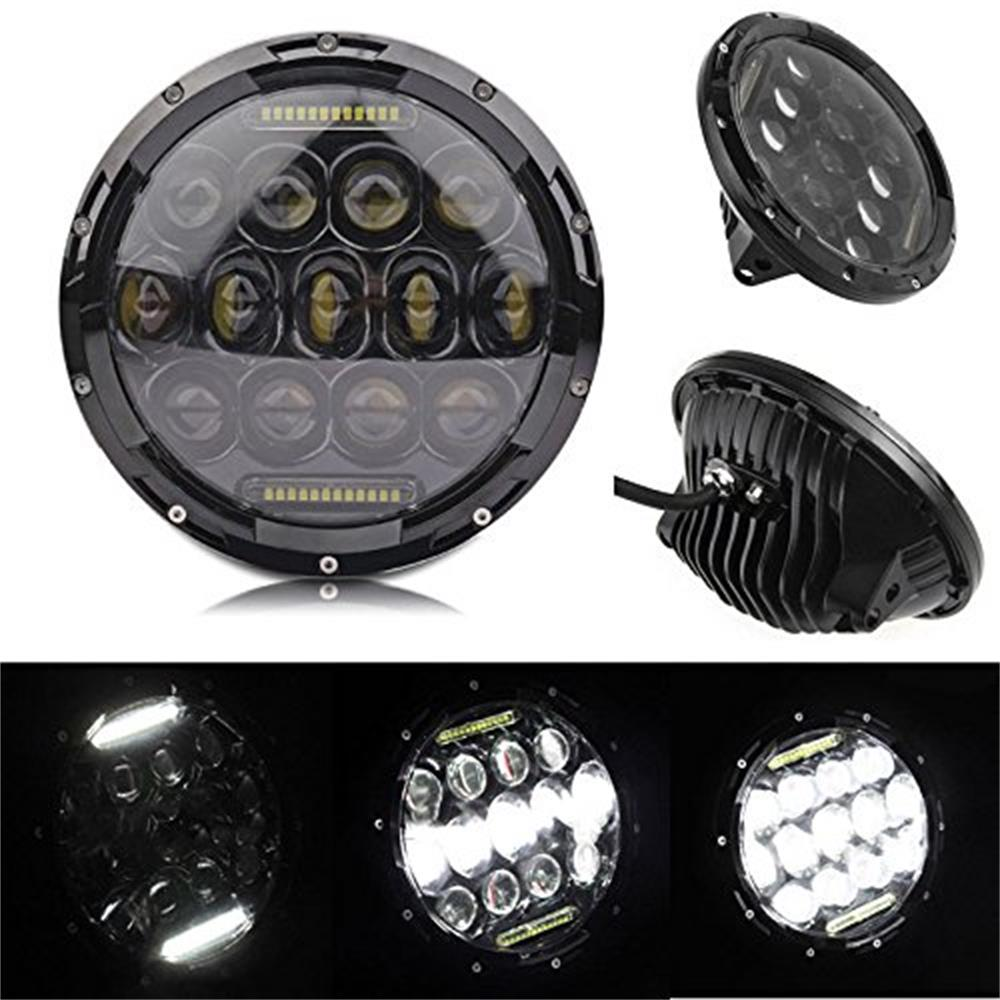 For 05 Freightliner Century 95 Peterbilt 379 EXHD 359 Old Style LED Headlight 2x