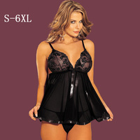 XxL XXXL 4XL 5XL 6XL Available Exotic Lingerie 2017new Arrival Transparent Sex Lingerie Lace Printed Sexy