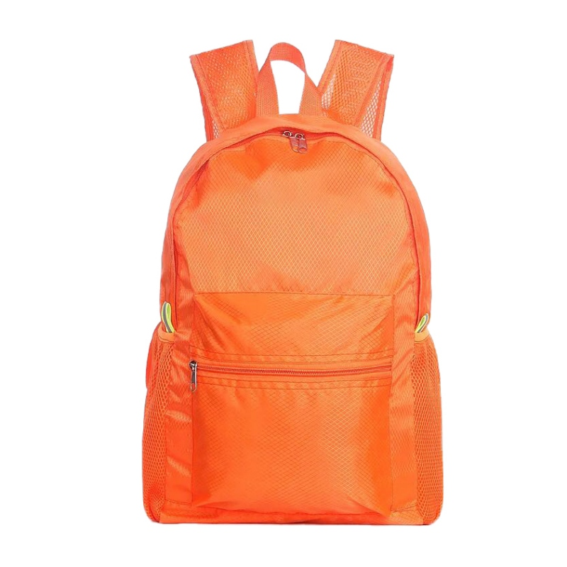 Double Shoulder Backpack Women Men Large Capacity Nylon Lightweight Folding Waterproof Breathable Gym Bag Sportswear Accessories