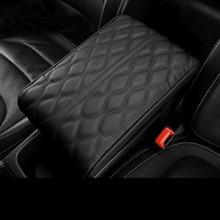 Из микрофибры автомобиль подлокотник Pad крышка универсальный центральной консоли Авто подлокотники для автомобиля коробка защиты