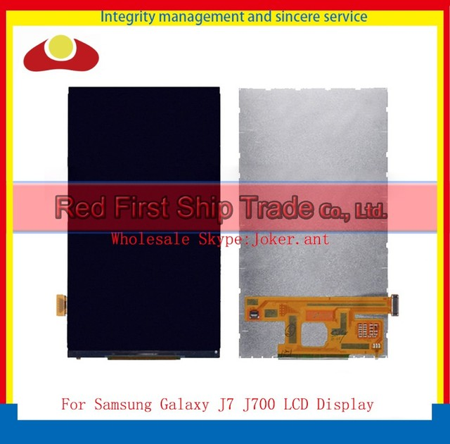 "High Quality 5.5"" For Samsung Galaxy J7 J700 J700F Lcd Display Screen Free Shipping+Tracking Code"