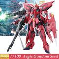 Modelo Daban MG Gundam SEED GAT-X303 Aegis MS/MA ZAFT/Montado 1/100 Japonês Transformação montado Kits Modelo Passatempo brinquedos