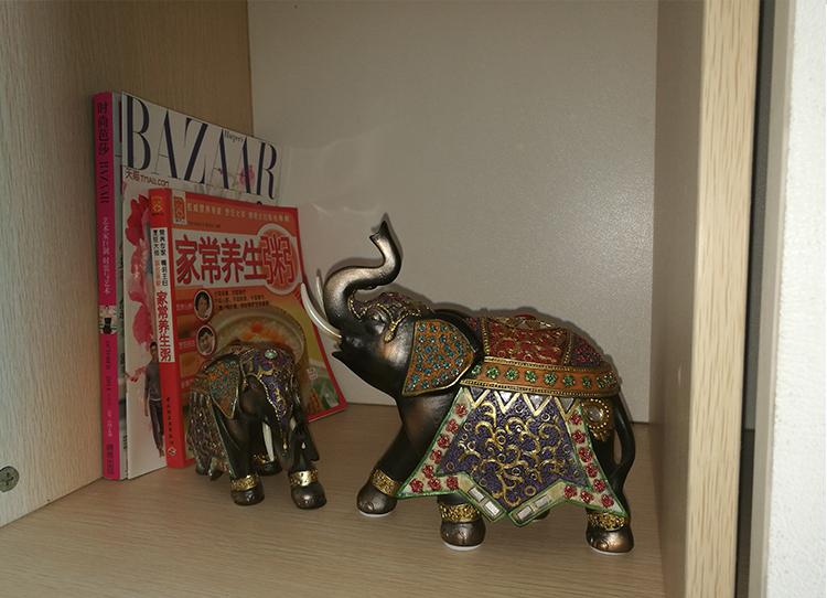 elephant in feng shui statue