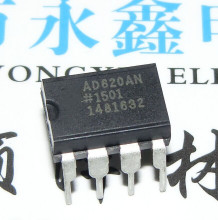 10pcs/lot AD620ANZ DIP-8 operational amplifier AD620AN DIP AD620A AD620
