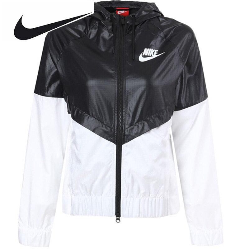 Nike Femmes Manteau D'été de Sport Coupe-Vent À Capuche Veste Windrunner  Rapide