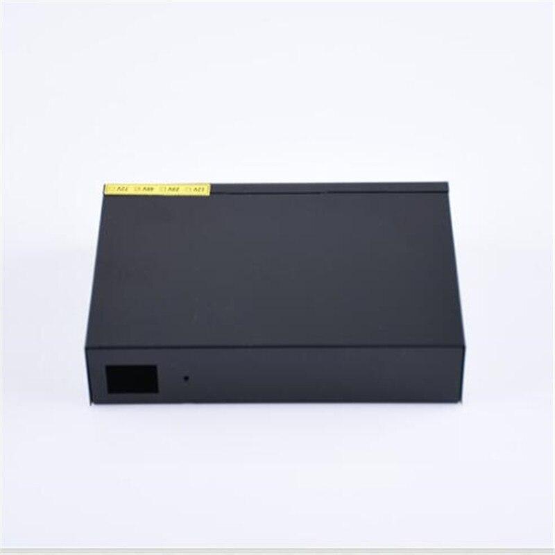 ANDDEAR XX8 48 v 8 port gigabit unmanaged poe switch 8*100/1000 mbps POE poort; 2*100/1000 mbps UP Link poort; 1*100/1000 mbps - 5