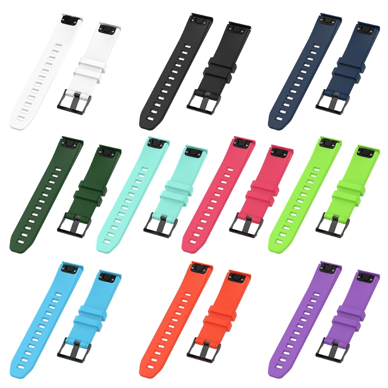 Free delivery For Garmin Fenix 5 GPS Watch with 22mm Silicone Quick Release Wrist Band Tool For Quickfit 5 Watch Band For Fenix5